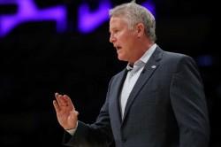 ers Fire Coach Brett Brown After Celtics Sweep Nba Playoffs