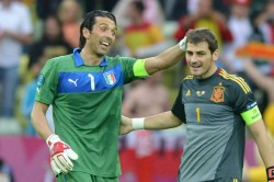 Buffon Hails Rival And Friend Casillas Without You Everything Would Have Been Less Meaningful