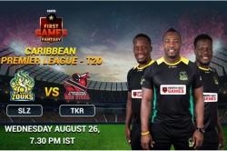 Cpl 2020 Match 13 St Lucia Zouks Vs Trinbago Knight Riders Paytm First Games Fantasy Prediction