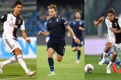 Ronaldo Dybala Immobile Trident Leads Opta S Serie A Team Of The Season