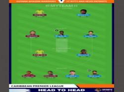 Cpl 2020 Guyana Amazon Warriors Vs St Kitts And Nevis Patriots Myteam11 Fantasy Tips Predictions