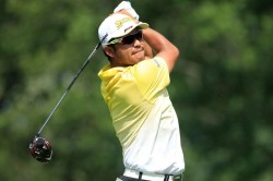 Hideki Matsuyama Edges Ahead Tough Conditions Bmw Championship