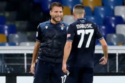Immobile Equals Higuains Serie A Goalscoring Record And Collects Golden Shoe Prize
