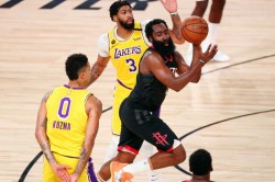 Nba James Harden Rockets Lebron James Lakers Giannis
