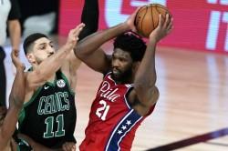 Philadelphia 76ers Joel Embiid Nba Playoffs Celtics