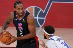 Doc Rivers Kawhi Leonard Clippers Nba Playoffs Mavericks