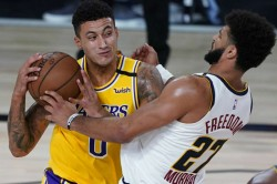 Lakers Nuggets Bucks Raptors Nba Kuzma