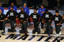Lakers Bucks Magic Trail Blazers Nba Playoffs Thunder Rockets Racial Injustice