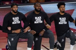 Lebron We Don T Care If Trump Turns Off When We Take A Knee