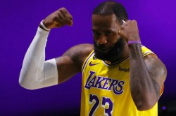 Lebron James Davis Lakers Bucks Giannis Nba Playoffs