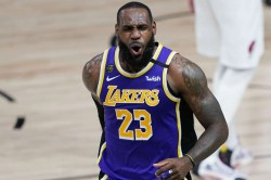 Lebron James La Lakers Trail Blazers Nba Playoffs Giannis Bucks Rockets Thunder Heat Pacers