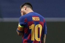 Barcelona Sack Quique Setien New Coach Lionel Messi