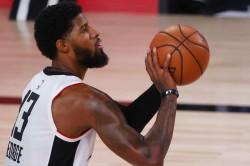 Paul George Los Angeles Clippers Reaction Kawhi Leonard Dallas Mavericks