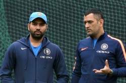 Ms Dhoni Is One Of A Kind Nobody Can Be Like Him Says Rohit Sharma