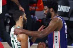 Celtics Complete 4 0 Sweep Over 76ers Nba Playoffs