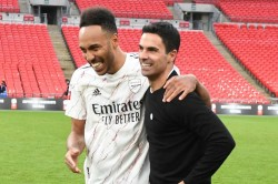 Arteta Aubameyang Stayed Because Arsenal Incredible Club Barcelona Inter