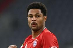 Bayern Munich V Schalke Bundesliga Match Report Serge Gnabry Scores Hat Trick For Champions Robert Lewandowski