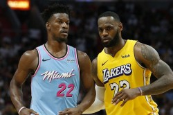Lebron James The Ultimate Test And Heat Have To Be Near Perfect To Beat Lakers Butler
