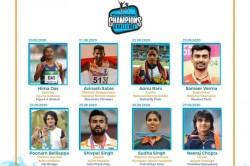 Hima Das Neeraj Chopra Pullela Gopichand Spearhead Idbi Federal Futurefearless Champions Challenge