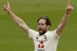 India Vs England All Rounder Chris Woakes Flies Back Home