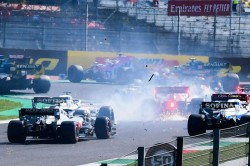 F1 2020 Bottas Not At All To Blame For Dramatic Mugello Restart Crash