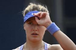 Eugenie Bouchard Istanbul Cup Wta Tennis Semi Final