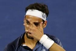 Fabio Fognini Suffers Shock Defeat Marc Andrea Huesler Generali Open