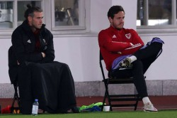 Wales Ryan Giggs Gareth Bale Substitution Half Time Planned