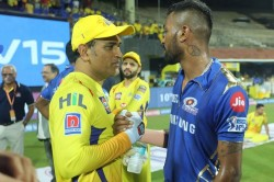 Ipl 2020 Hardik Pandya Trolls Ms Dhoni Ab De Villiers Reminds Him Not To Mess With Thala