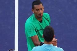 Us Open 2020 Nick Kyrgios Takes Swipe At Novak Joker Djokovic With Online Poll
