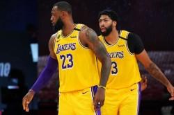 Davis Lebron James La Lakers Rockets Nba Playoffs