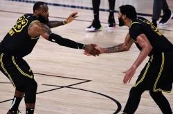 Lebron James Davis Lakers Rockets Bucks Giannis Heat Nba Playoffs