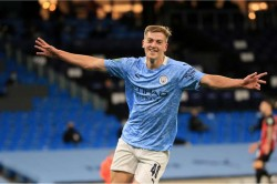 Manchester City Bournemouth Liam Delap Phil Foden Carabao Cup