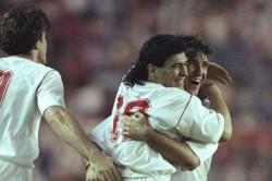 Sevilla V Bayern Munich Diego Maradona Super Cup
