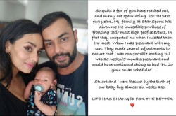 Stuart Binny Wife Mayanti Langer Blessed With A Baby Boy