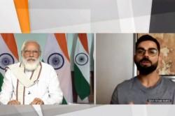 When Pm Narendra Modi Asked Virat Kohli About Yo Yo Test Chhole Bhature During Virtual Meeting