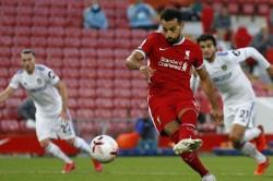 Mohamed Salah Leeds Liverpool Penalty Champions League