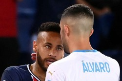 Neymar Four Game Ban For Striking Alvaro Gonzalez In Psg Loss To Marseille Says Jerome Rothen