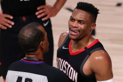 Russell Westbrook Shouting Match Rajon Rondo Brother Shut Up And Watch Game