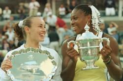 Serena Williams First Grand Slam Us Open 1999 Flushing Meadows Hingis