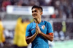 Draw Against Qatar Stands Out Right Up There With The Best Sunil Chhetri
