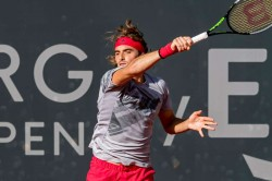 Tsitsipas Deals With Lajovic To Reach Semifinals In Hamburg