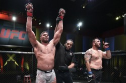 Ufc Vegas 9 Results Overeem Cements Top Heavyweight Status With Tko Victory Over Sakai