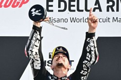 Motogp 2020 The Tough Times Seem To Have Passed Vinales Revels In Misano Success