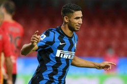 Inter Achraf Hakimi Positive Coronavirus Gladbach Champions League