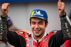 Petrucci French Motogp Grand Prix Win In Le Mans Rain