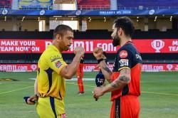 Ipl 2020 Rcb Vs Csk Match 44 Dhoni Kohli Finch And Rayudu Chase These Milestones