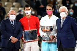 French Open Novak Djokovic Praises Perfect Rafael Nadal