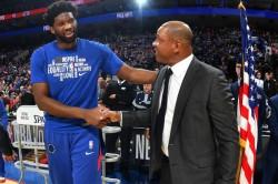Embiid Doc Rivers Philadelphia 76ers Philadelphia Nba