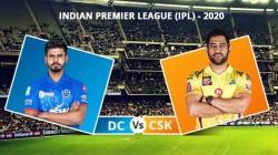 Ipl 2020 Dc Vs Csk Match 34 1st Innings Jadeja Rayudu Guide Chennai To 179